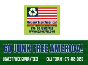 Junk Removal | 1-877-465-3653 | Go Junk Free America