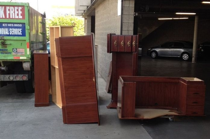 Storage Unit Junk Removal in the Orange County Area